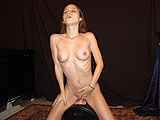 Shy Teen Girl Experiencing a G-spot Orgasm