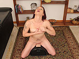 Juliette Rides the Mighty Sybian